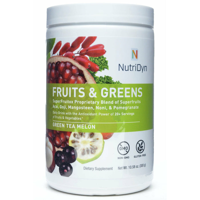 Fruits & Greens Green Tea Melon by Nutri-Dyn