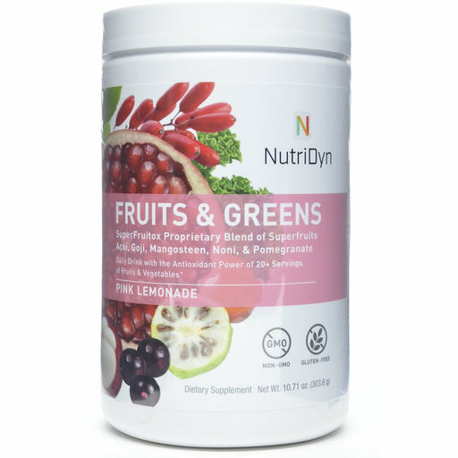Nutri-Dyn, Fruits & Greens Pink Lemonade (formerly Dynamic Fruits & Greens)