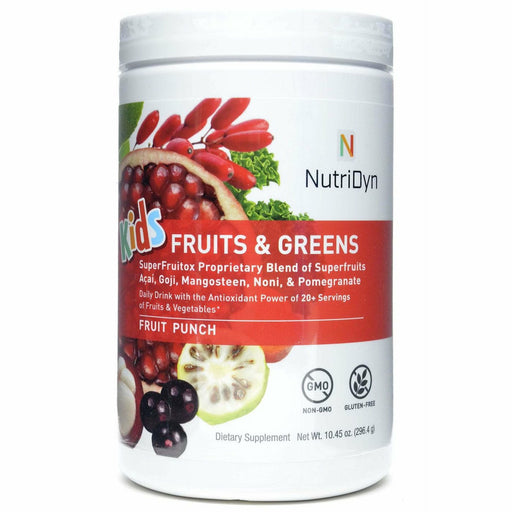Nutri-Dyn, Fruits & Greens Kids Drink Fruit Punch