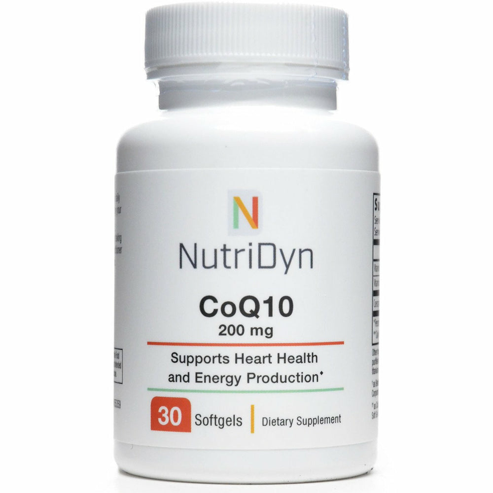 Nutri-Dyn, CoQ10 200 mg 30 Softgels