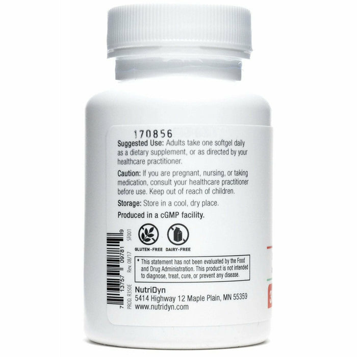CoQ10 200mg 30 Softgels by Nutri-Dyn