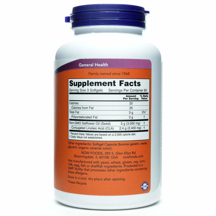 CLA Supplement Facts