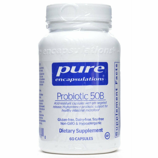 Pure Encapsulations, Probiotic 50B (soy & dairy free) 60 vcap