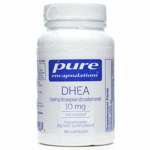 Pure Encapsulations, DHEA (micronized) 10 mg 180 vcaps
