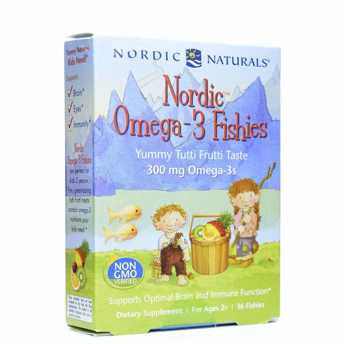 Nordic Naturals, Nordic Omega-3 Fishies 36 chewables