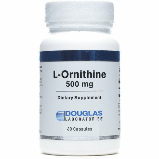 Douglas Labs, L-Ornithine 500mg 60 caps