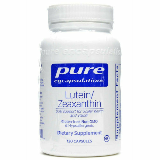 Pure Encapsulations, Lutein/Zeaxanthin 120 vcaps