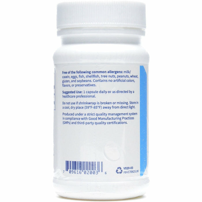 CoEnzyme Q10 100 mg 30 vcaps by Klaire Labs