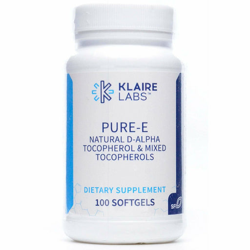 Klaire Labs, Pure E 400IU 100 softgels