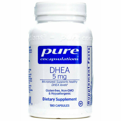 Pure Encapsulations, DHEA (micronized) 5 mg 180 vcaps