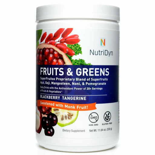 Nutri-Dyn, Fruits & Greens Blackberry Tangerine