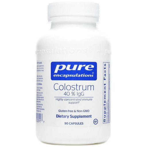 Pure Encapsulations, Colostrum 40% IgG 450 mg 90 vcaps