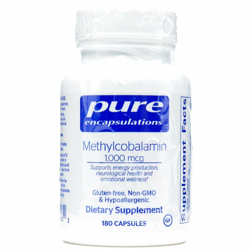 Pure Encapsulations, Methylcobalamin 1000 mcg 180 vcaps
