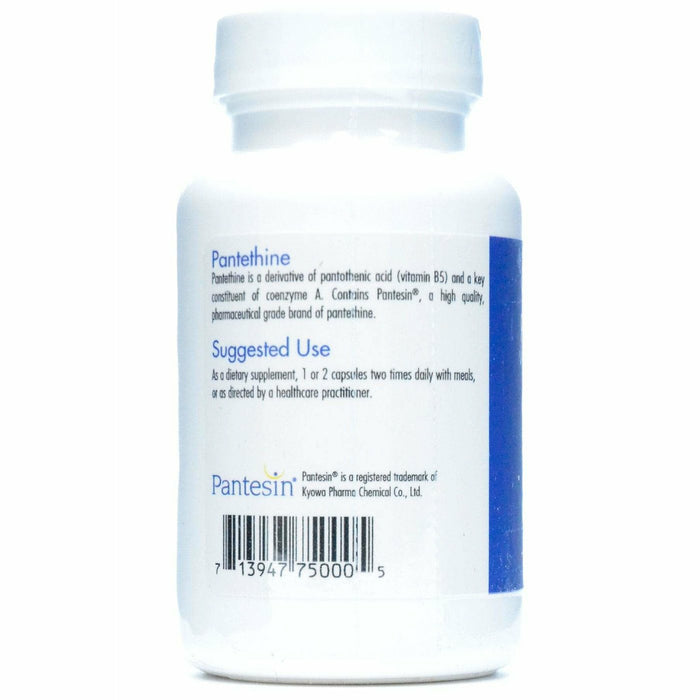 Allergy Research Group, Pantethine 600 mg 60 vcaps