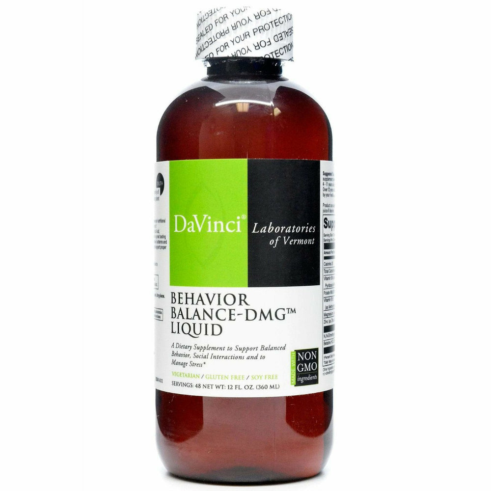 Davinci Labs, Behavior Balance-DMG Liquid 12 oz