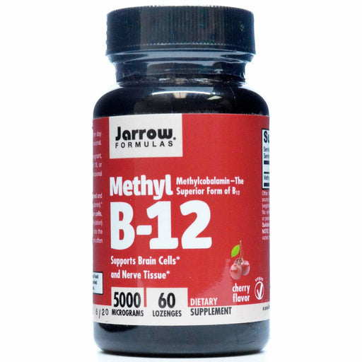 Jarrow Formulas, Methyl B-12 5000 mcg 60 lozenges