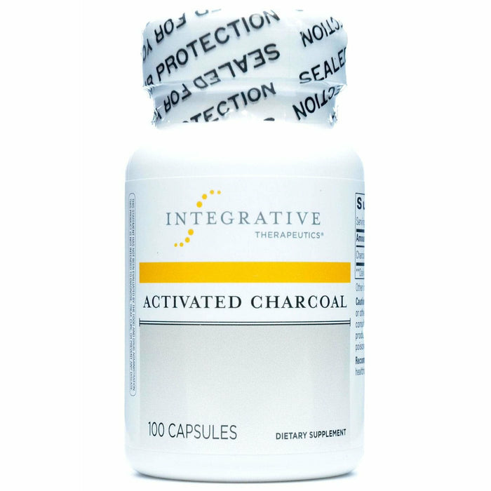 Integrative Therapeutics, Activated Charcoal 560 mg 100 caps