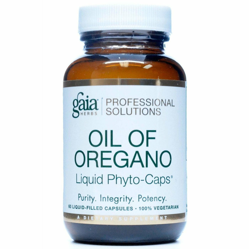 Gaia Herbs, Oil of Oregano 60 lvcaps