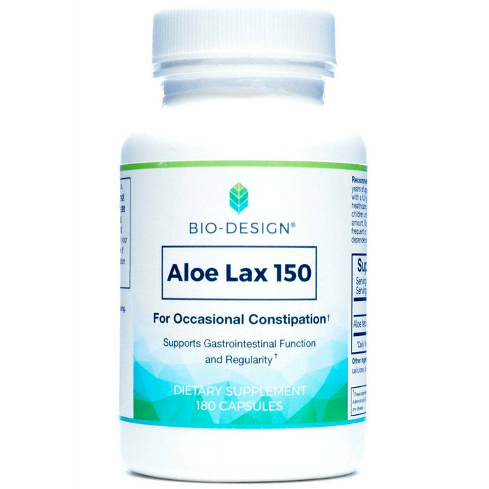 Biodesign, Aloe Lax (formerly Aloe Lite) 180 caps