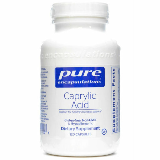 Pure Encapsulations, Caprylic Acid 120 vcaps