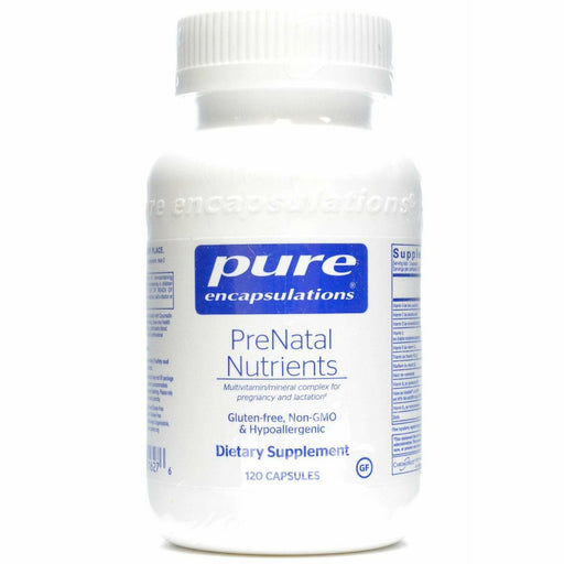Pure Encapsulations, PreNatal Nutrients 120 caps