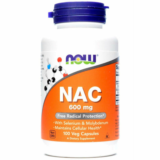 NOW, NAC 600 mg 100 vcaps