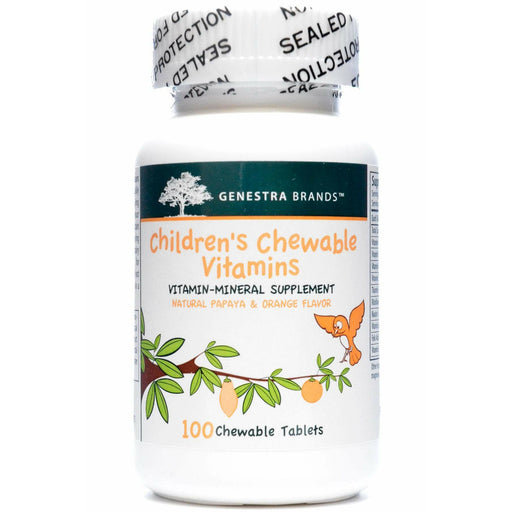 Seroyal Genestra, Children's Chewable Vitamins 100 tabs