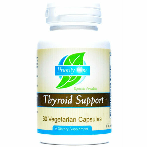 Priority One Vitamins, Thyroid Support 60 vcaps