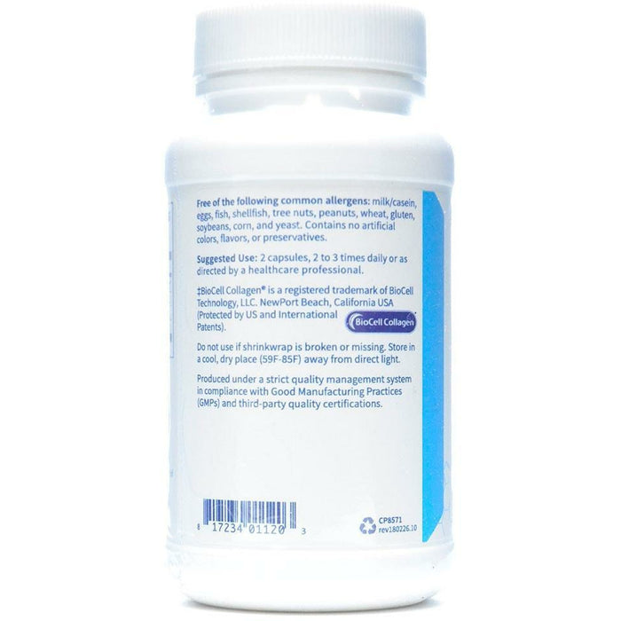 Collagen Type II 500 mg 60 vcaps by Klaire Labs