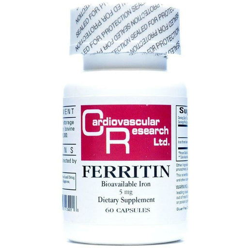 Ecological Formulas, Ferritin Fe 5 mg 60 caps