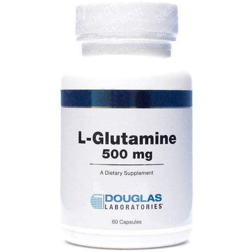 Douglas Labs, L-Glutamine 500 mg 60 caps