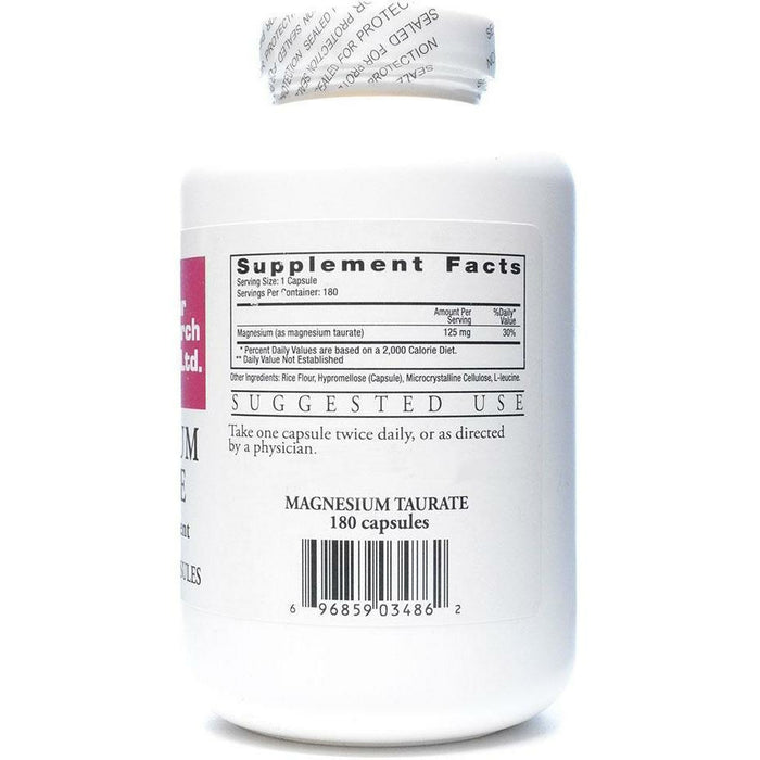 Magnesium Taurate 125 mg 180 caps by Ecological Formulas
