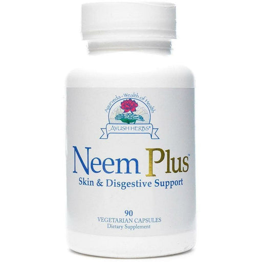 Ayush Herbs, Neem Plus 90 vcaps