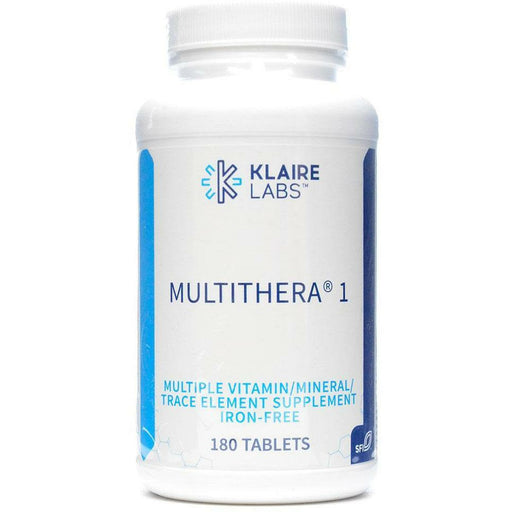 MultiThera 1 Iron-Free 180 tabs by Klaire Labs