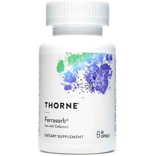 Thorne Research, Ferrasorb 60 Capsules