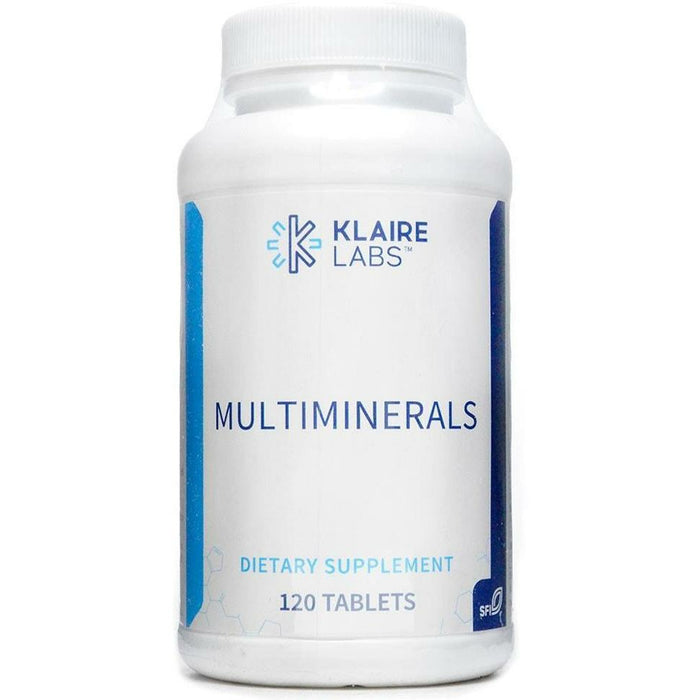 Klaire Labs, MultiMinerals 120 tabs