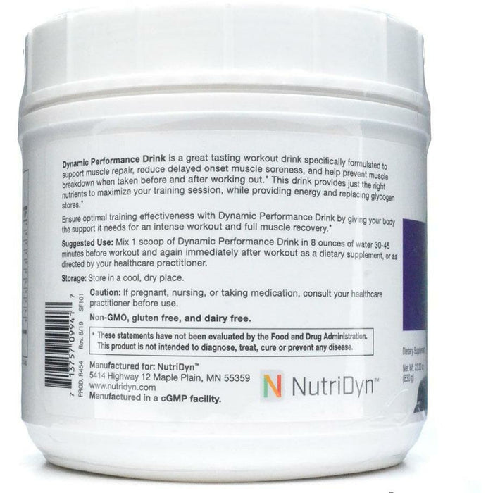 Dynamic Performance Drink by Nutri-Dyn