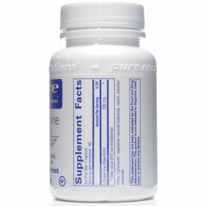 L-Glutamine 500 mg 90 vcaps by Pure Encapsulations