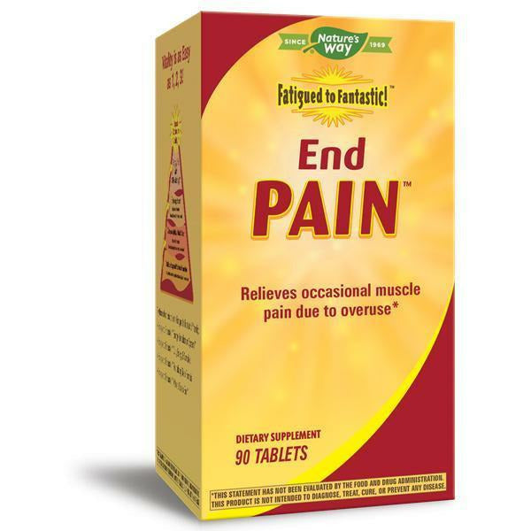 Nature's Way, Fatigued to Fantastic End Pain 90 tabs