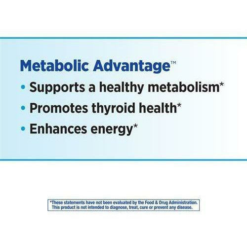 Metabolic Advantage 100 caps by Nature's Way