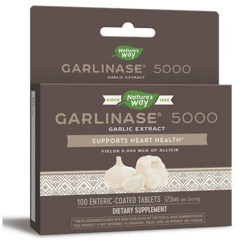 Nature's Way, Garlinase 5000 100 tabs