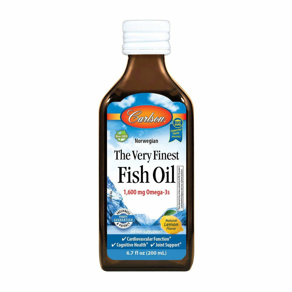 Carlson Labs, Finest Fish Oil Omega 3 200 ml