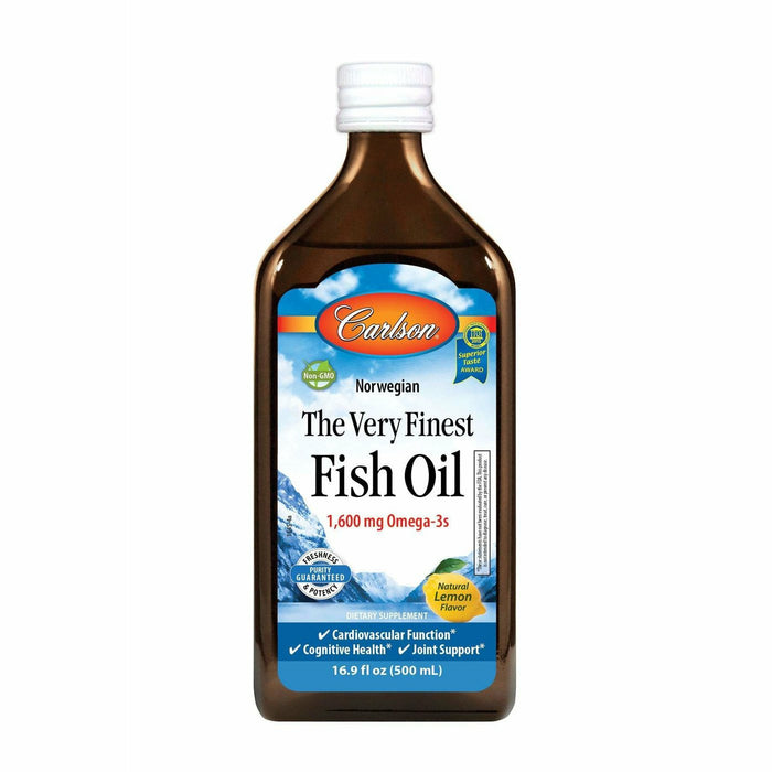 Carlson Labs, Finest Fish Oil Omega 3 500 ml