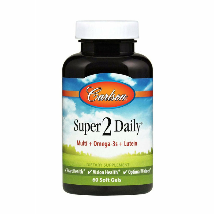 Carlson Labs, Super 2 Daily 60 softgels