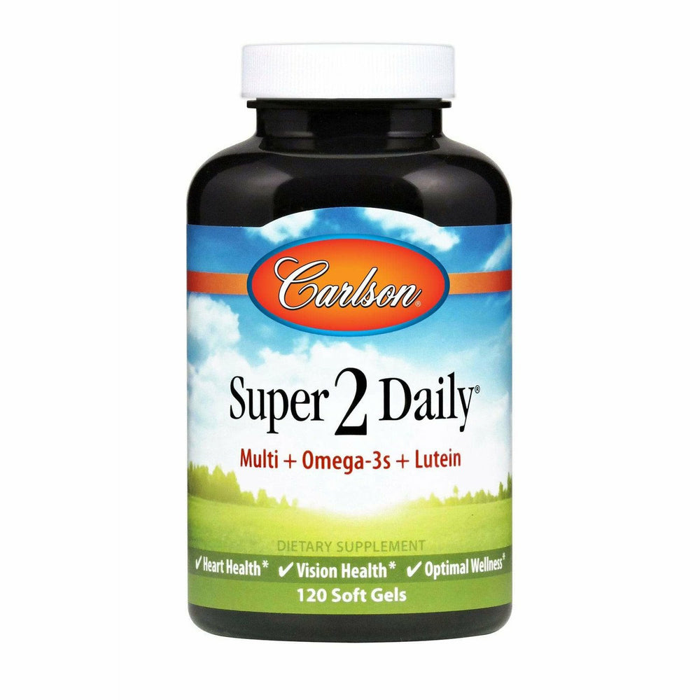 Carlson Labs, Super 2 Daily 120 softgels