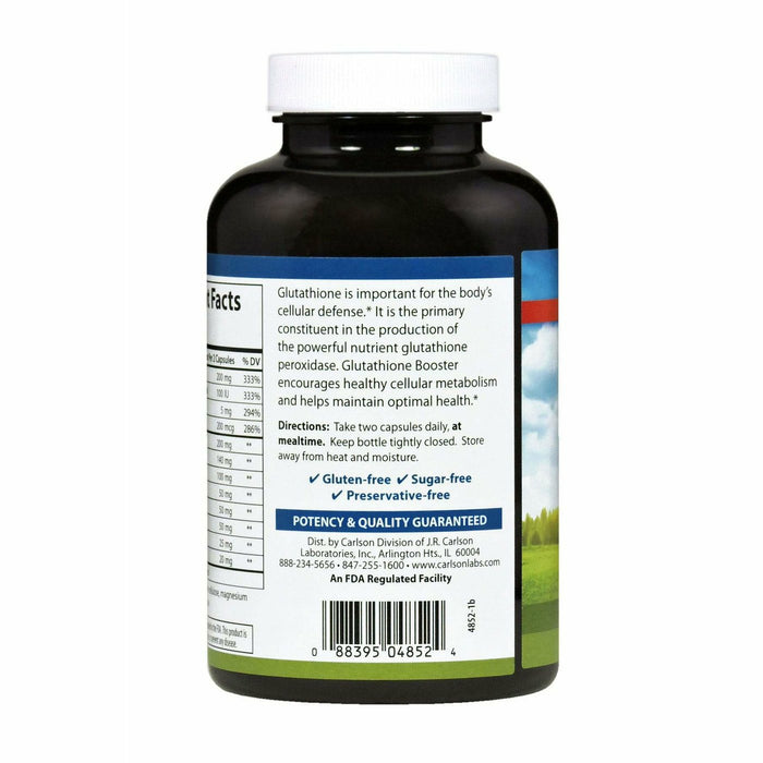 Glutathione Booster 180 caps by Carlson Labs
