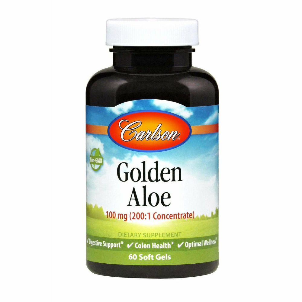 Carlson Labs, Golden Aloe 60 gels