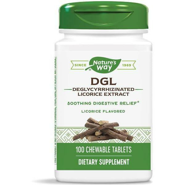 DGL 100 chew tabs by Nature's Way