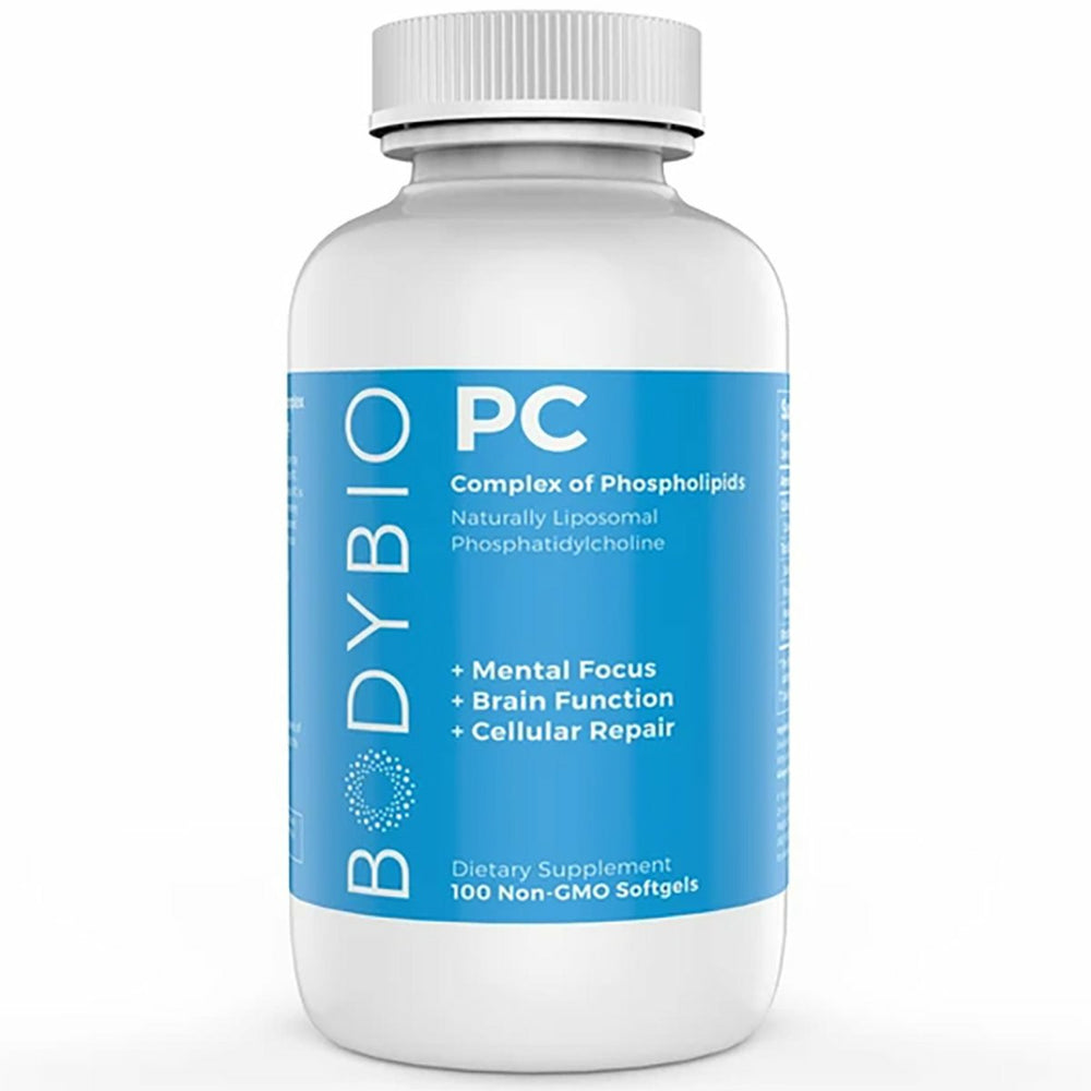 BodyBio PC, 100 Softgels (Phosphatidylcholine)