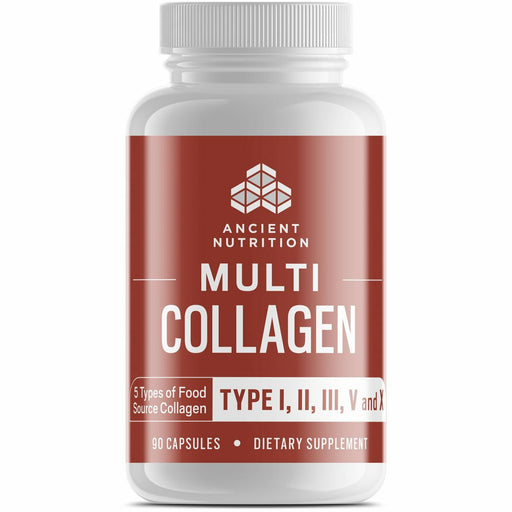 Ancient Nutrition, Multi Collagen Protein 90 Caps